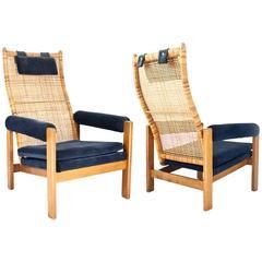 Set of Lounge Chairs by P.J. Muntendam Dutch Mid-Century Modern, 1956