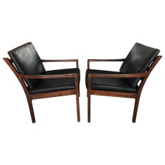 Pair of Fredrik Kayser Rosewood Chairs