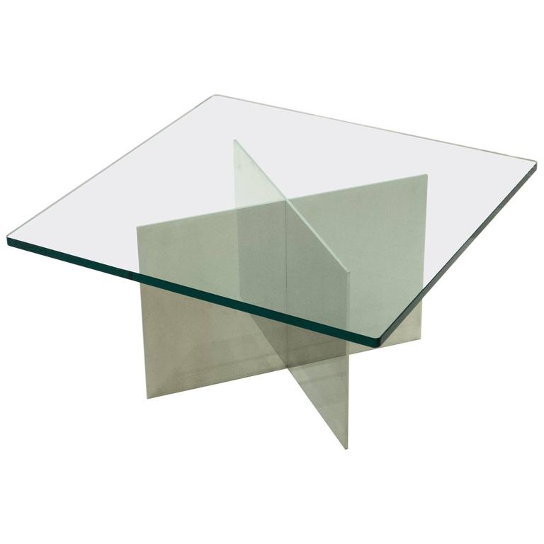 Paul Mayen Polished Aluminum Cocktail Table for Habitat
