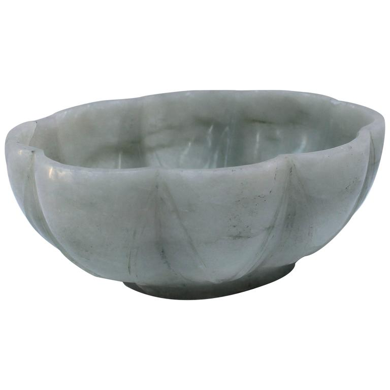 Chinese Jadeite Hardstone Bowl  For Sale