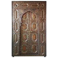 Amazing Rabat Door All Inlaid