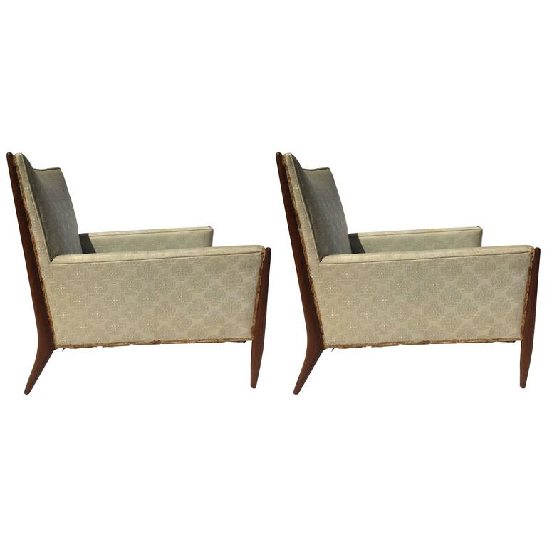 Pair of Mid-Century Armchairs by Paul McCobb