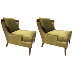 Mid-Century Pair of Tomlinson Sophisticate Collection Chairs