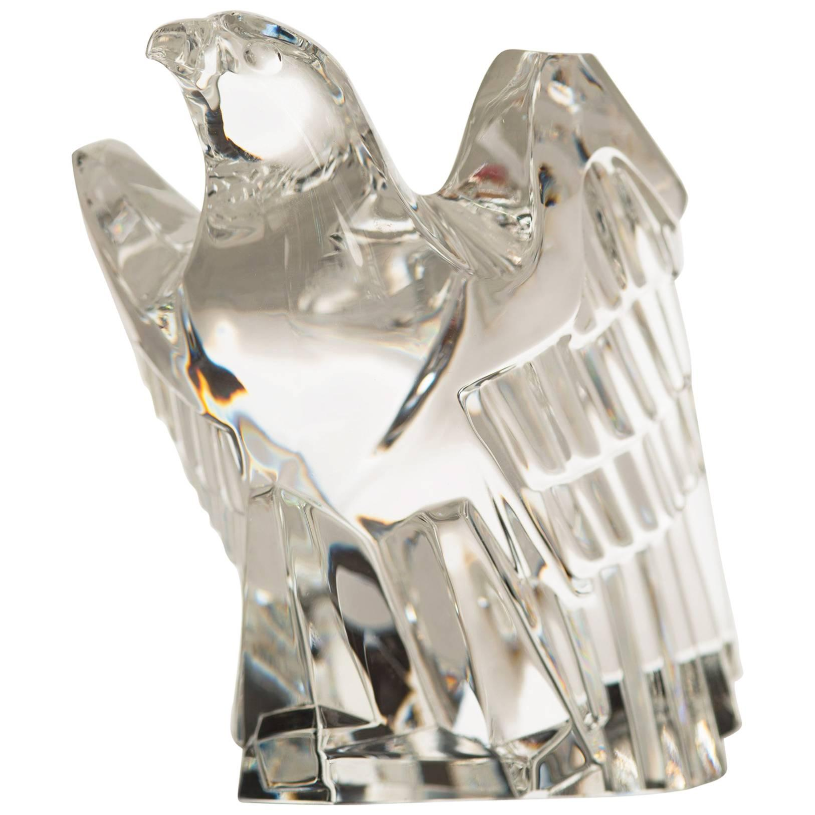 Mid-Century Steuben Glass Eagle