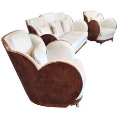 Art Deco Cloud Lounge Suite Attributed to Epstein