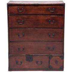 Early 20th Century Japanese Tansu Chest