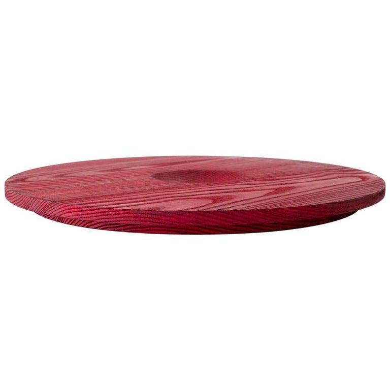 "Recess ""Circle"" Minimal 'Decorative Dish/Platform' for Organization/Display For Sale"