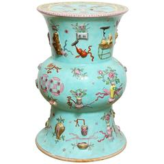 Chinese Porcelain Baluster Shaped Garden Stool