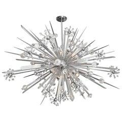 Glamorous Custom Rock Crystal Sputnik