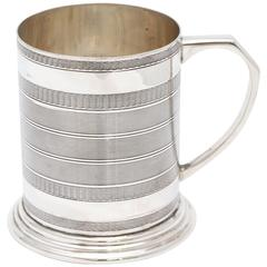 Sterling Silver Baby Mug in the Edwardian Style