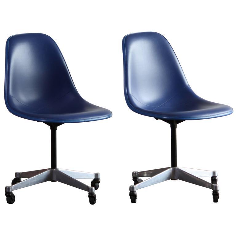 Padded Eames Side Shell for Herman Miller