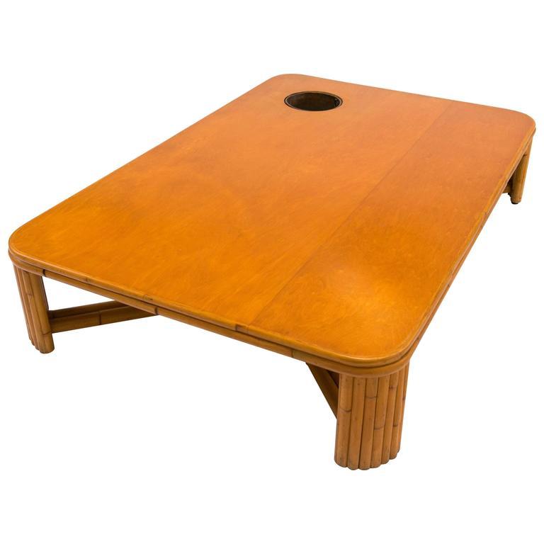 Bamboo Coffee Table, Svenskt Tenn, 1960s For Sale