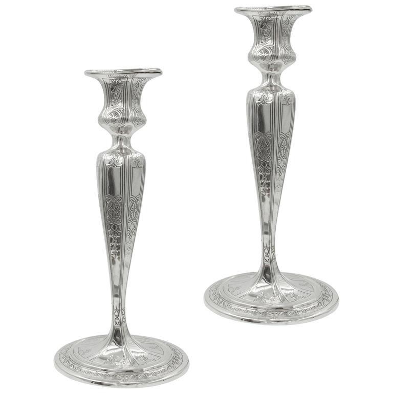 Tiffany & Co Candlesticks For Sale