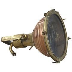 Rippled Copper Cargo Light