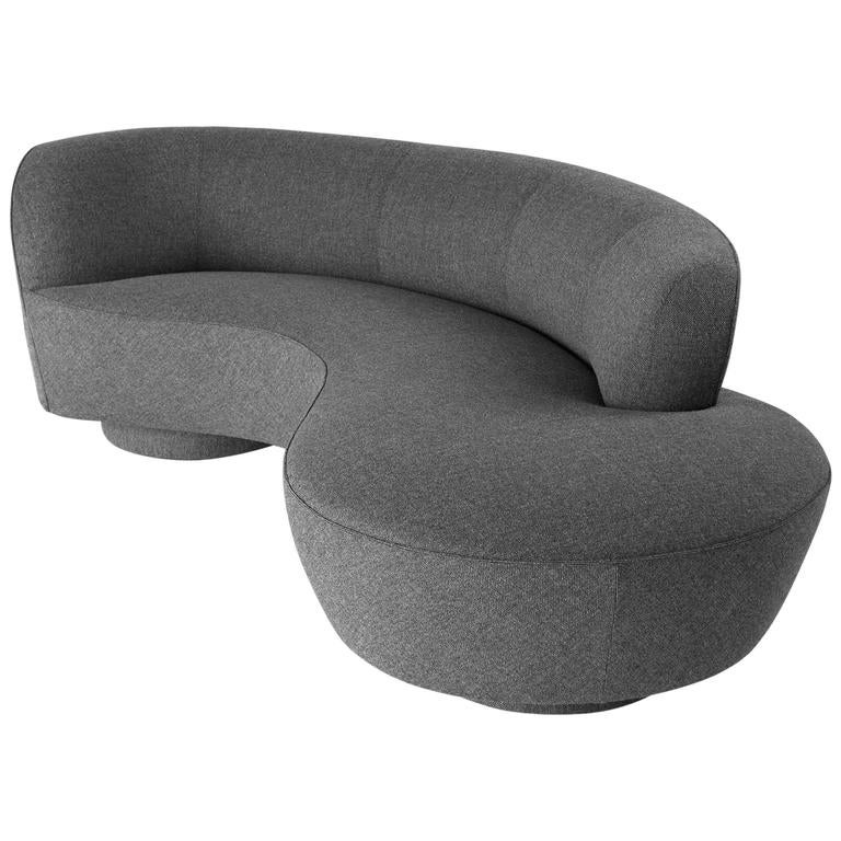 Serpentine Sofa by Vladimir Kagan, circa 1970 1