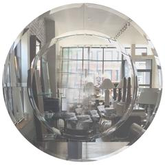 Karl Springer Round Large Saturn Mirror