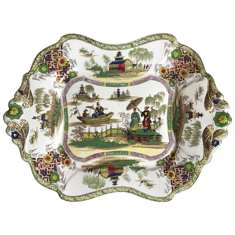 Aesthetic Chinoiserie Platter