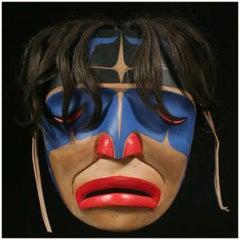 20th Century North West Coast American Indian Tribal Mask George Hunt Jr