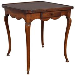 French Louis XV Provencal Walnut Games Table, Mid-18th Century