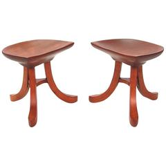 Pair of Stools after Austrian Architect Adolf Loos