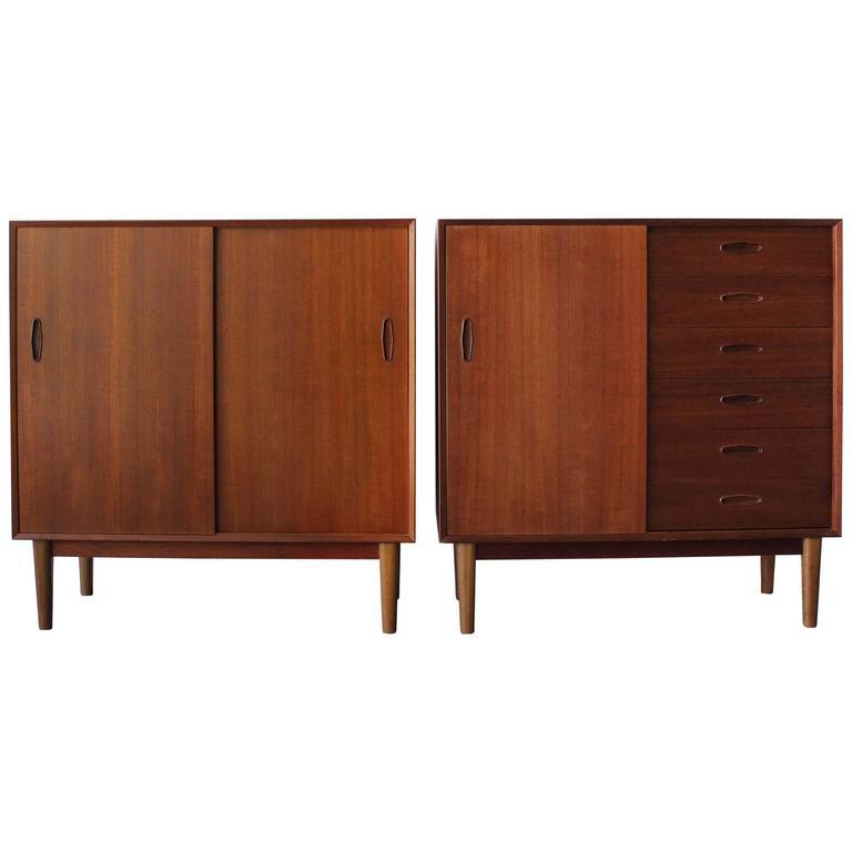 Pair of Troed Swedish Cabinets