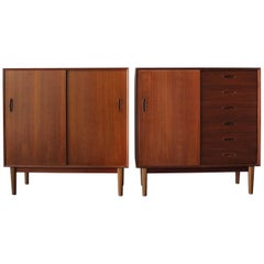 Pair of Troed Swedish Cabinets