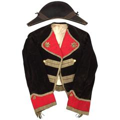Scarce American War of 1812 Uniform and Bicorn Hat