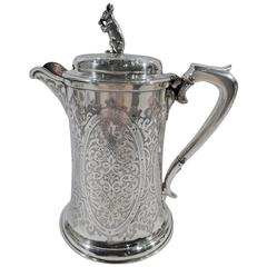 Antique Scottish Sterling Silver Coffeepot
