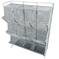 Industrial Style Wire Mesh Storage Bin