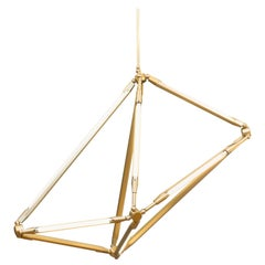 Bec Brittain Shy 18, Brass Led Chandelier