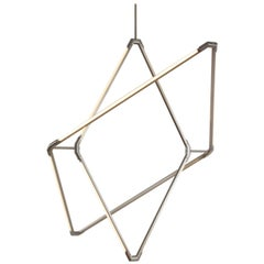 Bec Brittain Zelda Orbits Large, Brass Led Chandelier