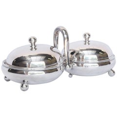Hotel Silver Double Server from France