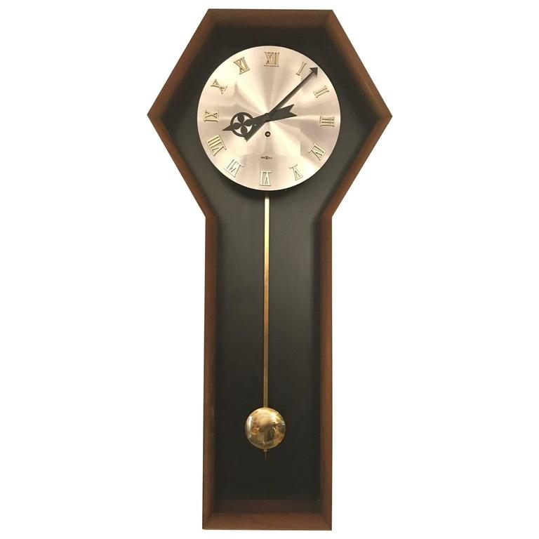 George nelson for howard miller wall clock for sale at 1stdibs for Nelson wall clock