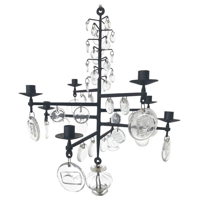 Erik hoglund kosta boda crystal 1960s swedish chandelier candelabra erik hoglund kosta boda crystal 1960s swedish chandelier candelabra for sale mozeypictures Image collections