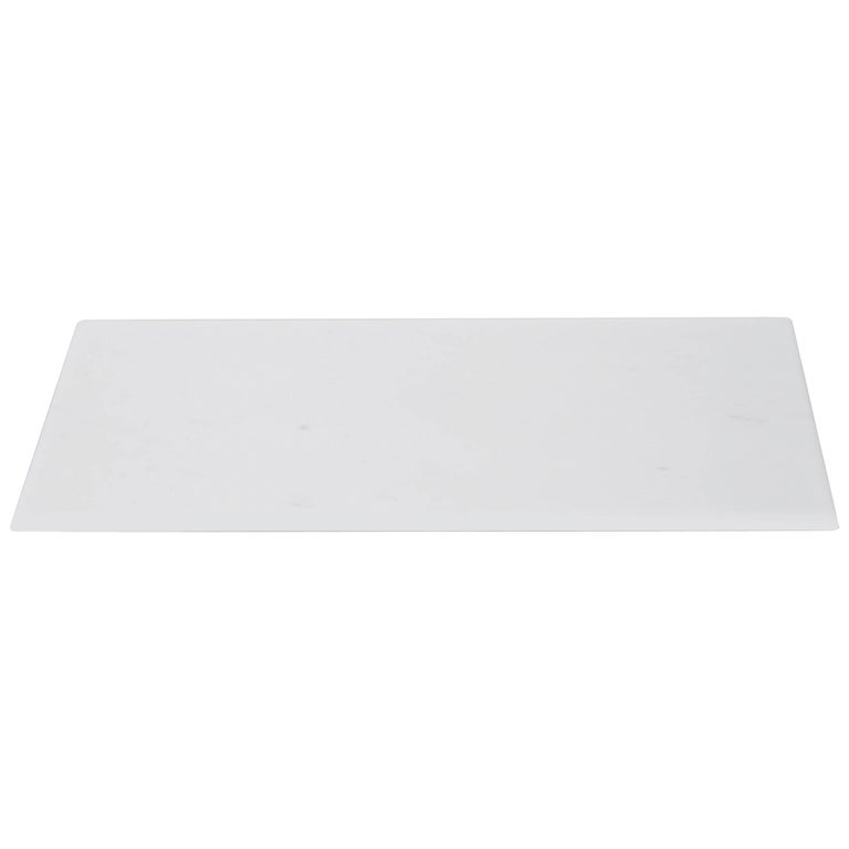 Sushi Tray in White Michelangelo Marble by Ivan Colominas, Italy For Sale