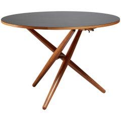 Jurg Bally Height-Adjustable Ess-Tee Table for Wohnhilfe, Switzerland