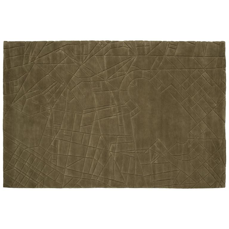 City Milano, Hand-Knotted Rug in Wool Designed for Nodus by Peter Rankin For Sale