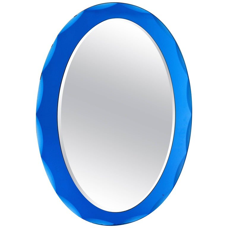Vintage Italian Glass Mirror 1