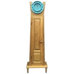 Guillerme et Chambron, Rare Oak Longcase Clock, Edition Votre Maison, circa 1970