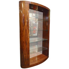 Deco Style Rosewood Bookcase