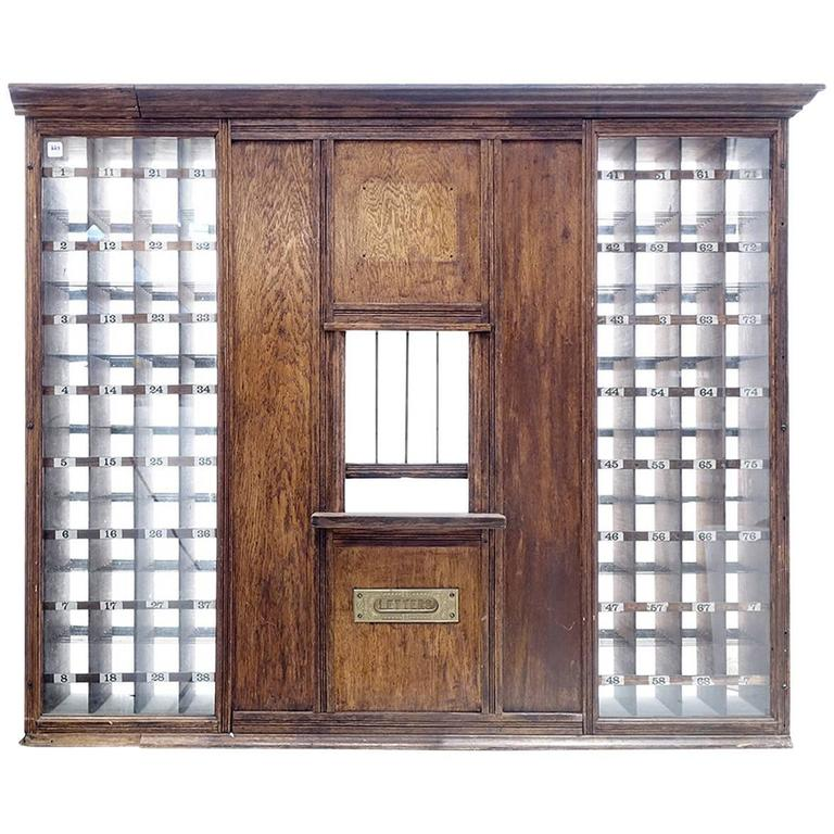 1800s Post Office Window
