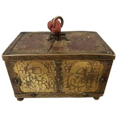 17th Century French Jewel Chest