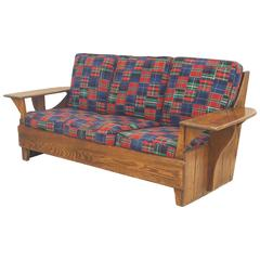 American Mission Rustic Old Hickory Settee