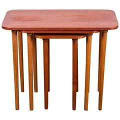 Danish Modern Nesting Tables