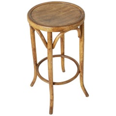 Early 20th Century French Bentwood Bar Stool, Thonet Chair