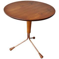Albert Larsson Atomic Tripod Round Side Table