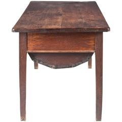 First Half of the 19th Century French Oak Dough Bin