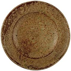 Arne Bang, Large Bowl in Ceramics