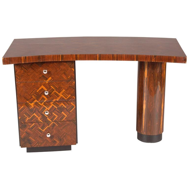 Very Elegant Desk in Art Deco Style
