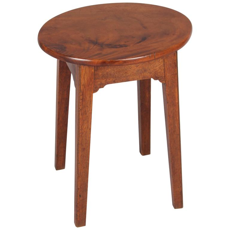 George Iii Period Mahogany Stool At 1stdibs
